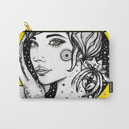 Vibrant Symbiose Carry-All Pouch