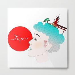 Japan Lover!! Metal Print