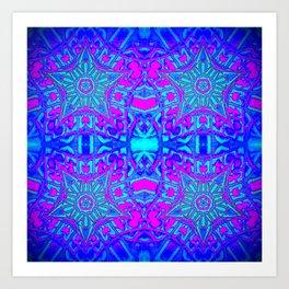 Bright Cool Stars Art Print