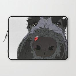Ladybug Scottie Laptop Sleeve