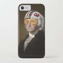 Rebel Allience General Washington iPhone Case