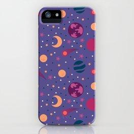 Universe Pattern iPhone Case