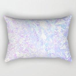 Iridescent Crystal Rectangular Pillow