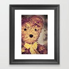 My Teddy Bear Framed Art Print