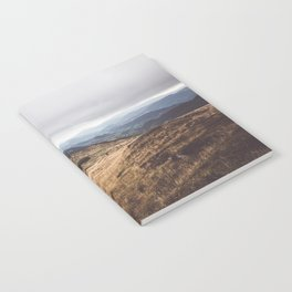 Over the hills and far away Notebook