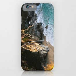 McWay Falls ~ Pfeiffer State Park  12/31/14 iPhone Case