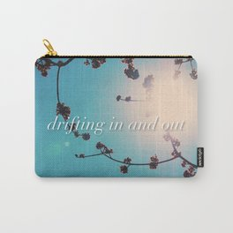 DRIFTING IN AND OUT Carry-All Pouch