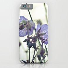 Sunlit meadow Crane's-bill Slim Case iPhone 6s
