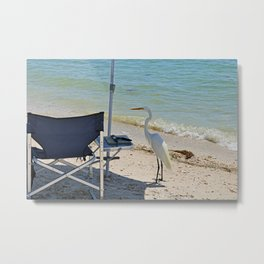 Wishin I Was Fishin II Metal Print