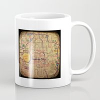 kansas city Mugs featuring Dream Big Kansas City by CAPow!