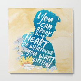 peter kavinsky - to all the boys i've loved before Metal Print