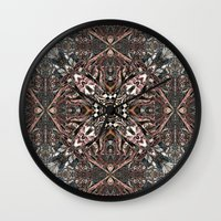 kilim Wall Clocks featuring Kilim by András Récze