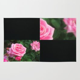 Pink Roses in Anzures 1 Blank Q2F0 Rug