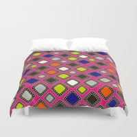 mirror Duvet Covers featuring Mirror  by ShivaR
