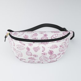 Tropical pattern Fanny Pack