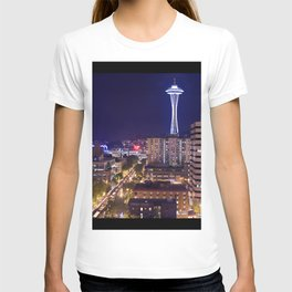Seattle Night View T-shirt