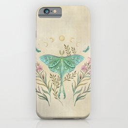 Luna and Forester - Oriental Vintage iPhone Case
