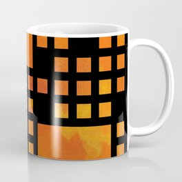 Visopolis V1 - orange flames Coffee Mug