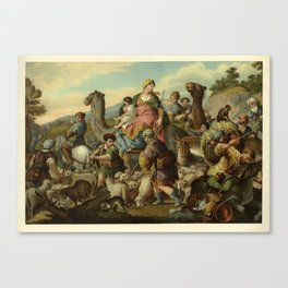 Jacob's Flight  Canvas Print