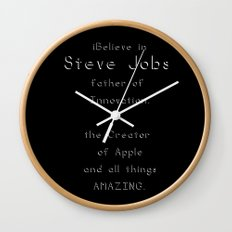 Have Faith Wall Clock