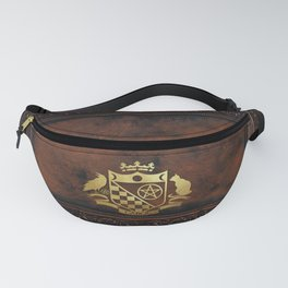 Cabot Gold Embossed Collection Fanny Pack