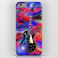 Psychedelic Guitar Slim Case iPhone 6 Plus