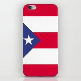 Puerto Rico flag emblem iPhone Skin