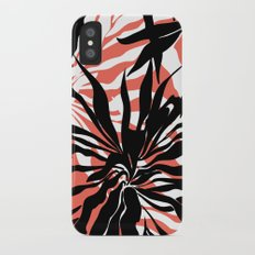 Tropical flower Slim Case iPhone X