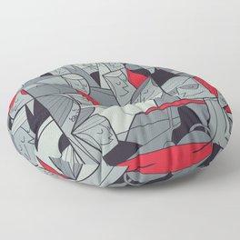 Porsche Racing Floor Pillow