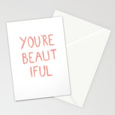 You're beautiful Stationery Cards