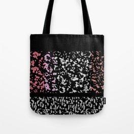 Pattern Splice Tote Bag