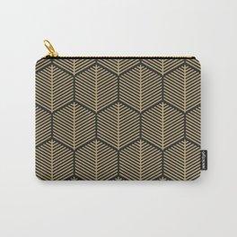 Hexagonal gold pattern 4 Carry-All Pouch