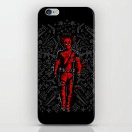 Deadpoo Ninja Hero iPhone Skin