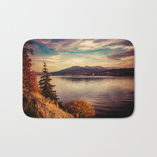 Serenity Lake Bath Mat