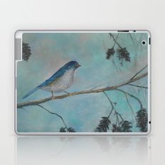 Bluebird of Happiness Laptop & iPad Skin