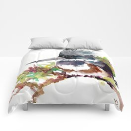 Belted Kingfisher Comforters