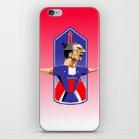 "zlatan iPhone & iPod Skins featuring ""I am Zlatan"" by Miguel Angel Illustrations"