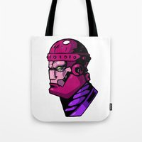 xmen Tote Bags featuring x8 by jason st paul