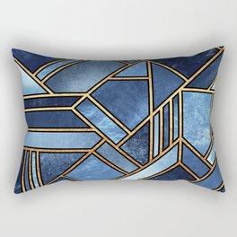 Blue City Rectangular Pillow