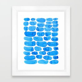 Watercolour abstract Framed Art Print