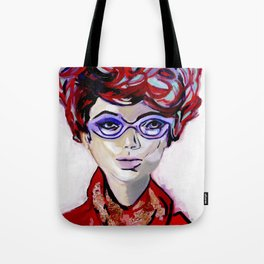 Judy by Varda Levy Tote Bag
