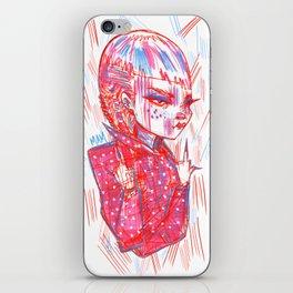 """""""Nails On FleeK"""" iPhone Skin"""