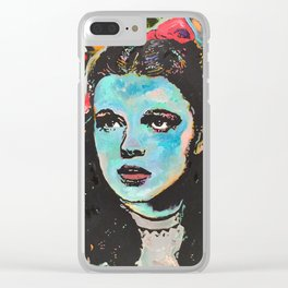 Over It Clear iPhone Case
