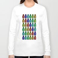 minions Long Sleeve T-shirts featuring MAGUS MINIONS by Shepo