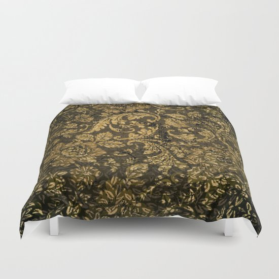 Decorative damask Duvet Cover