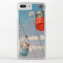 Sky Ride Clear iPhone Case