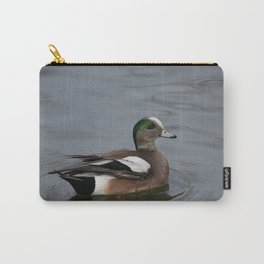 American Wigeon - Male Duck Carry-All Pouch