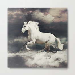MAGIC ANIMALS : HORSES Metal Print