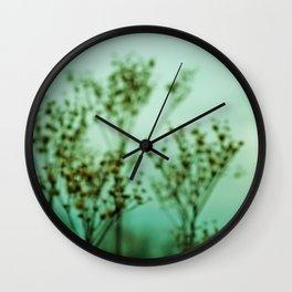 Moody Nature Abstract Wall Clock