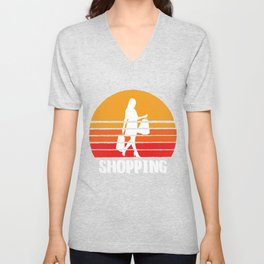 Shopping Sunset Unisex V-Neck